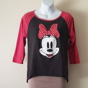 Disney Mini Mouse pajama top
